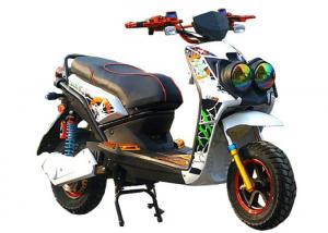 China Two Wheeler Battery Operated Electric Scooter2 Seats 72V 1000W Rated Motor Power on sale