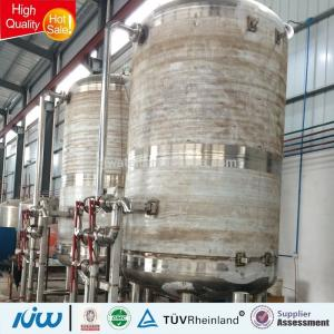 China Durable Water Treatment Tank 200mm-3000mm Diameter For Low Residual Hardness Water on sale