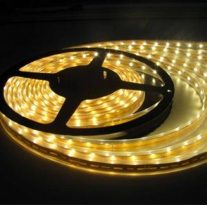 China IP68 1080 Luminous / 5m Waterproof Rgb Led Strip 60 Leds/M For Architecture Car on sale