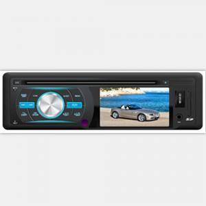 China Universal Single Din Car MP3 Player/Auto Player with USB/FM Radio/Clock/SD/Movie on sale