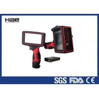 5 Inch LED Display Handheld Inkjet Printer 42 ml Ink Cartridge For Cables