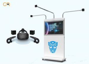 China New Arrival HTC vive 9d VR Simulator standing VR space platform VR Gun shooting game on sale