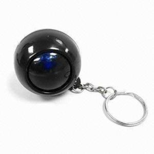 China Magic Ball with Keychain, Custom Magic Ball Keychain, answer ball with keychains on sale