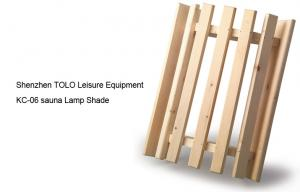 China wooden Sauna Accessories , light weight Corner Light Diffuser Shade on sale