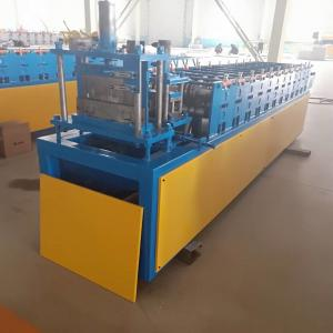 China Stud And Track Roll Forming Machine 12 Rows 4kw With 0.3-0.6mm Raw Material Thickness on sale