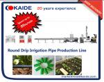 Cylindrical Drip Irrigation Pipe Making Machine Speed up to 60m/min high speed