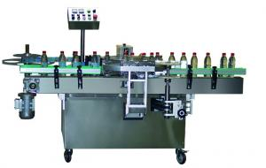 China EC-60 High Speed Vertical Self-Adhesive Glue Flat Bottle Labelling Machine With Applicator on sale