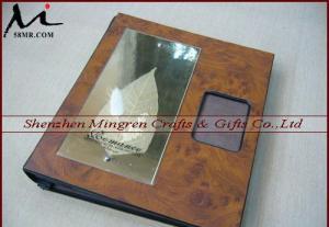 China Wedding Album Cover, Wood Album Cover, Leather Album Cover on sale