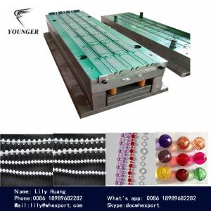 China roller blinds curtains rosary string yarn cord endless loop rope round plastic  ball chain mould mold molds moulds on sale