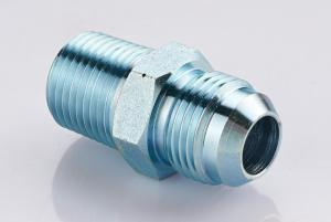China Carbon Steel Pipe Thread Adapter Fittings  / Male Bspp To Bspt Adapter 1st-Sp on sale