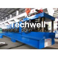 17 Main Rollers Cold / Hot Roll Forming Machine For Thickness 1.5 - 3.0mm CZ Purlin