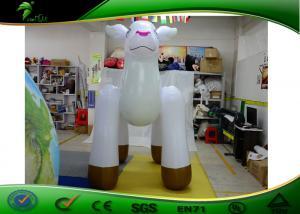 China H.120cm Inflatable Cartoon Characters Christmas Reindeer White Metal Deer on sale