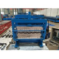 China Lightweight Roofing Sheet Roll Forming Machine Stable Performance Long Life Span on sale