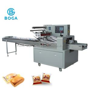 China Food Bread Packing Machine  4380X970X1450mm 100 - 270mm Bag Width High Speed on sale