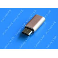 Gray Camera Type C Micro USB , SATA Sync Charge OTG Micro USB 23mm x 10mm x 5mm