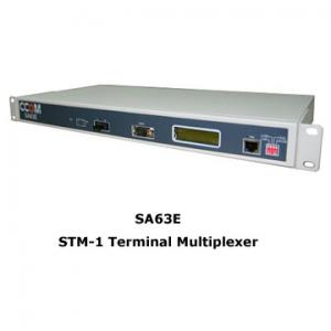 China SDH STM-1 Terminal Multiplexer, MSAP SDH TM with STM-1, 63E1, Compact 19 inch 1 U box on sale