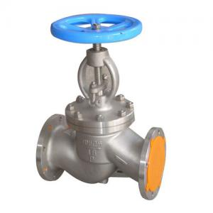 China SS316 Flanged Globe Valve With Flange End 150 Class , Material Class 316 supplier
