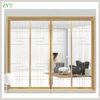 Interior large decorative sliding glass doors factory
