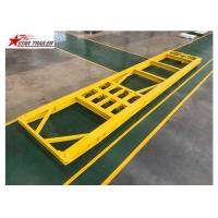 30-80 Tons 3 Axles Roro Mafi Trailer High Strength Low Alloy Steel Material