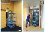 China 1 Person Worrking Aerial Work Platform 136kg Rated Load With Easy Loading Device wholesale