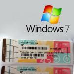 Genuine Windows 7 Professional Product Key 64 Bit Serial OEM Package Global Version