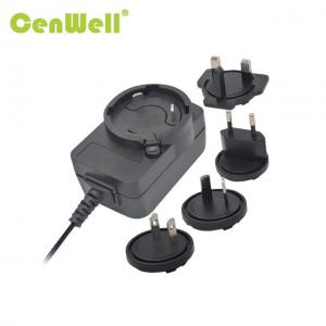 China factory price CE ETL FCC approval 5v 1a interchangeable US UK EU AU plugs AC DC power adapter wholesale