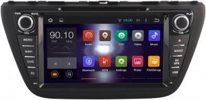 China 2014+ Suzuki DVD GPS Stereo Audio , Dual Zone Suzuki SX4 DVD Player Head Unit on sale