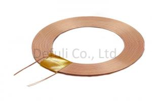 China Self - Bonding Wire Rfid Coil Antenna For Wireless Charging , 5.78mm Thickness on sale