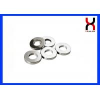Neodymium Ring Shaped Magnet Strong Permanent Type SGS / ROHS Certified For Speaker