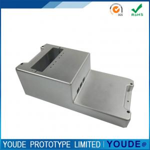 China Rapid CNC Aluminum Prototype Case For Electricity  Meter Chrome Plating on sale
