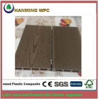 China 140*25mm Hollow WPC decking with wood Texture on sale