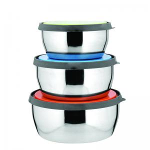 China Supermarket populars selling colorful stainless steel fresh box,keep food fresh box on sale