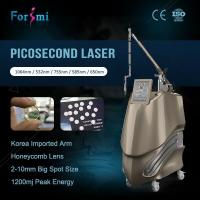 Medical multifunction painless pico second picosure laser tattoo removal beauty machine