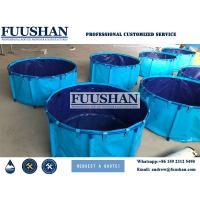 1500L 2000L Plastic PVC Fish Farming Tank Sell to Philippines