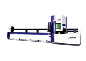 China Stainless Steel Square Pipe Laser Cutting Machine 2000 W Automatic Centering And Clamping on sale
