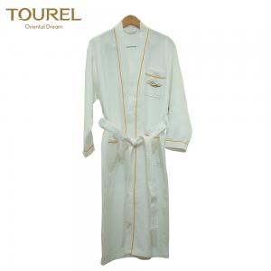 China 100% cotton luxury  hotel waffle bathrobes for women and men on sale