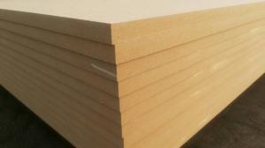 China China ACEALL 1220x2440mm Ordinary Plain Tableros de Fibra de Madera MDF Fibre Board on sale