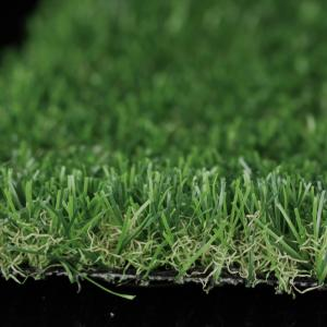 China Anti Ultraviolet Outdoor Synthetic Grass 25mm Pile Decorative Landscaping on sale