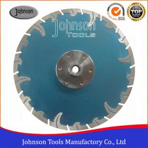 China 9 Inch Diamond Cutting Disc For Sandstone / Limestone / Basalt / Granite on sale