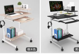 China Double deck single person computer table simple modern for small apartment on sale