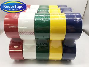 China Transparent Polypropylene Film 36 Micron Packing Adhesive Tape on sale