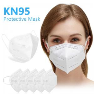 China Earloop KN95 Respirator GB2626 5 Layer Face Mask Half Face Respirator on sale