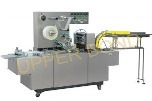 China Semi - Automatic Cigarette Packing Machine For BOPP Film And Anti - Fake Tear Tape on sale