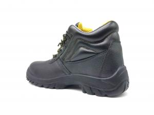 China Cow Leather Safety Shoes Outdoor Worker With Artificial Leather Hole Upper on sale