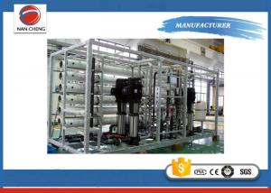 China Underground Water Treatment Systems / Industrial Reverse Osmosis System SUS304 on sale
