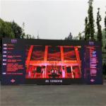 1R1G1B Full Color Led Display Screen , P10 Flexible Large Led Display Board