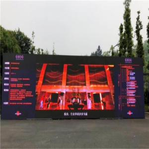 China 1R1G1B Full Color Led Display Screen , P10 Flexible Large Led Display Board on sale