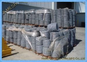 China Border Security Protection Galvanized Barbed Wire Steel ASTM Standards on sale