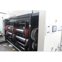 Carton Box Making Machine Corrugated , High Speed Printing Slotting Die Cutting Machine