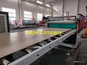 China 380V Double Screw PVC Crust Board Extrusion Machine on sale